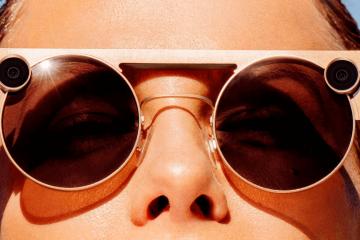 Устройства: солнцезащитные очки Spectacles