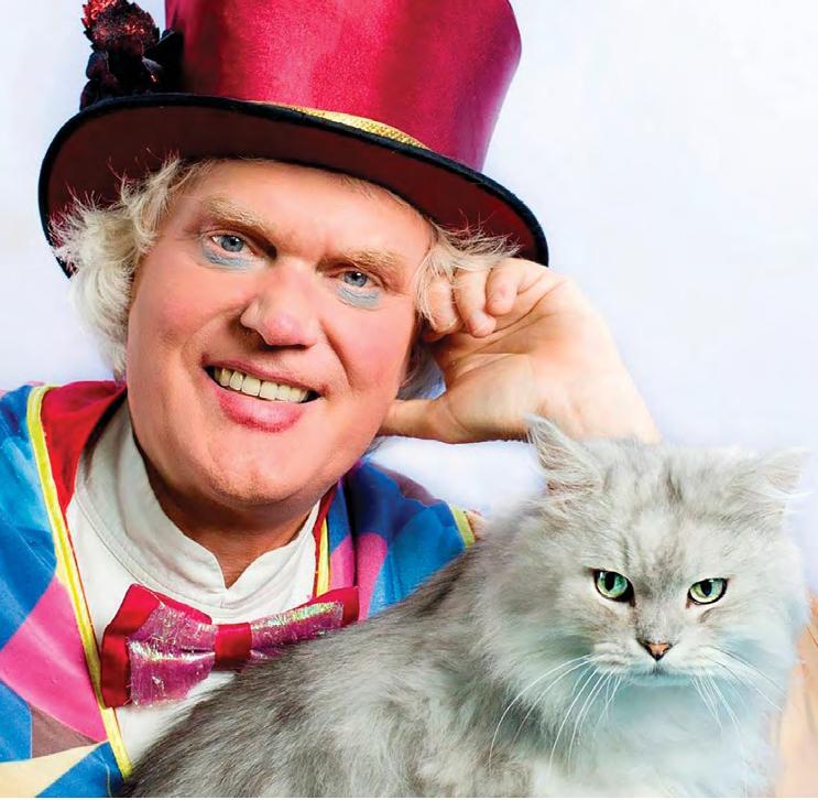 Юрий Куклачев, создатель и бессменный художественный руководитель Театра кошек: