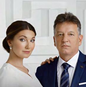 Ольга и Владимир Шуппо, главный врач Grand Clinic Ольга Шуппо и основатель МГК «ГРАНД-Крио»