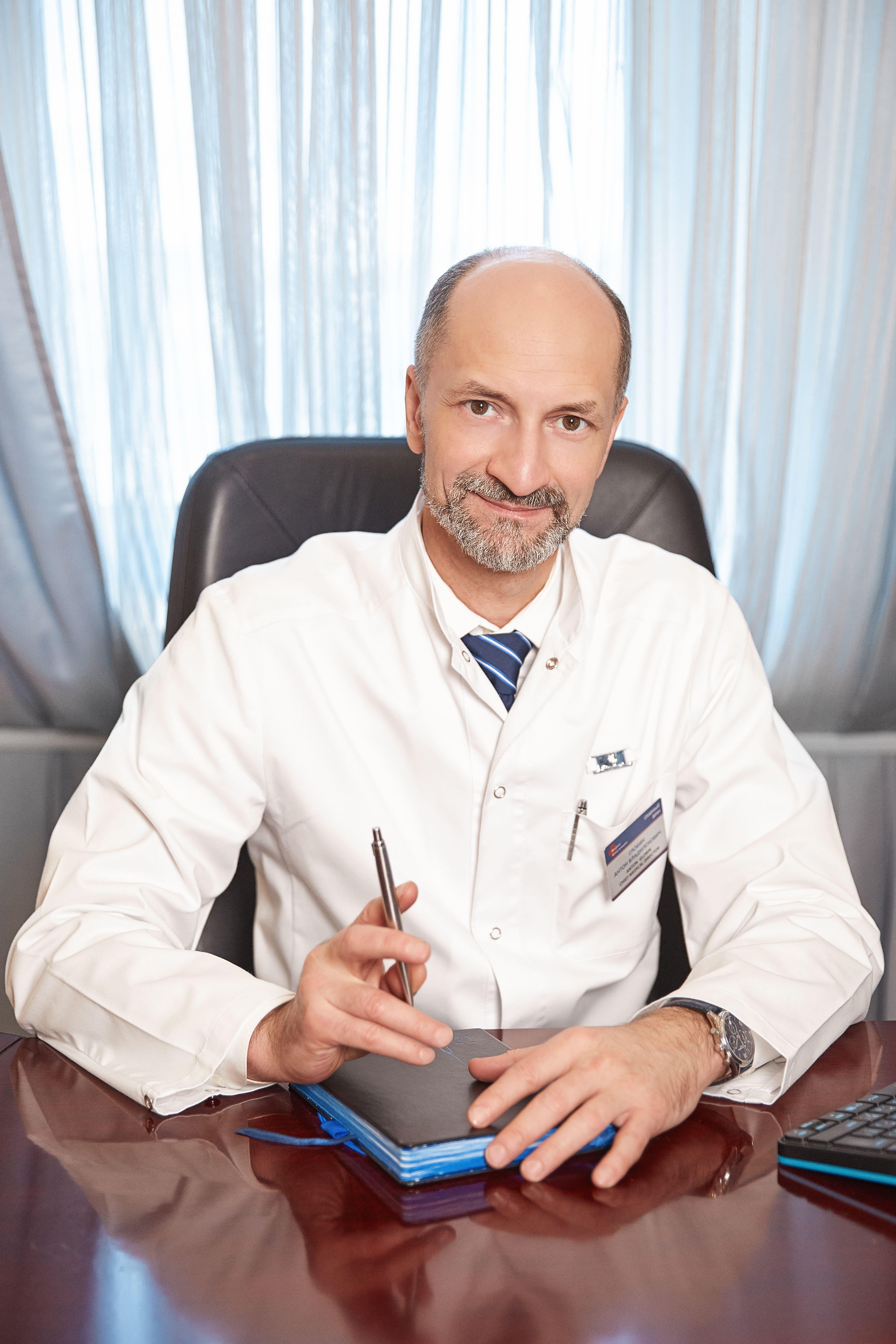 Антон Глобин, генеральный директор «Американской Медицинской Клиники»